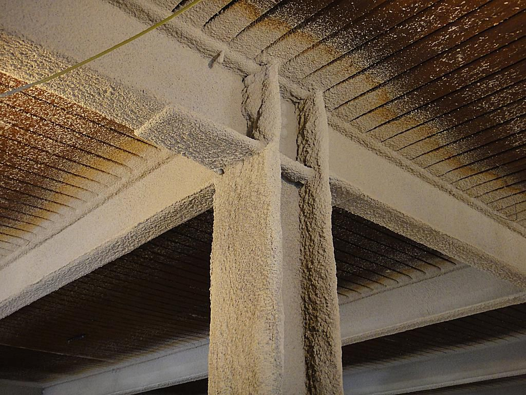 Fireproof Steel Wall Panels : Fireproofing methods for structural steel