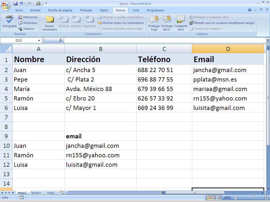 Funciones Excel busqueda y referencia y base de datos