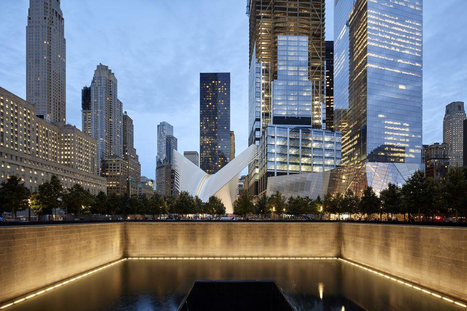 The Oculus, World Trade Center Transportation Hub, New York, United States. Architect: Santiago Calatrava, 2016.