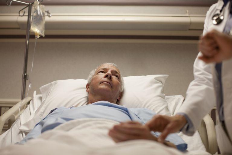 Varón hospitalizado