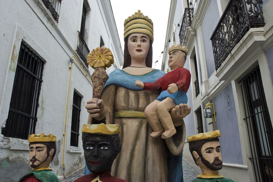 Christmas Madonna, San Juan, Puerto Rico