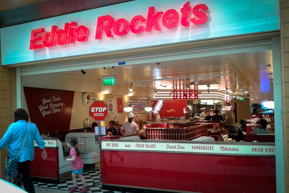 Eddie Rockets at The Quays in Newry