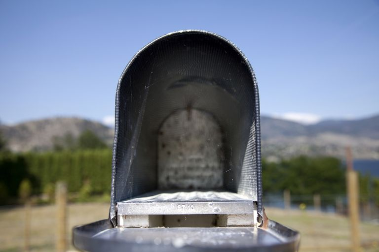 Empty Mailbox - No Payments