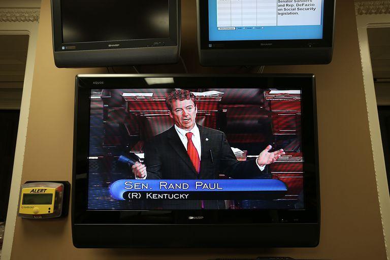 Rand Paul filibusters