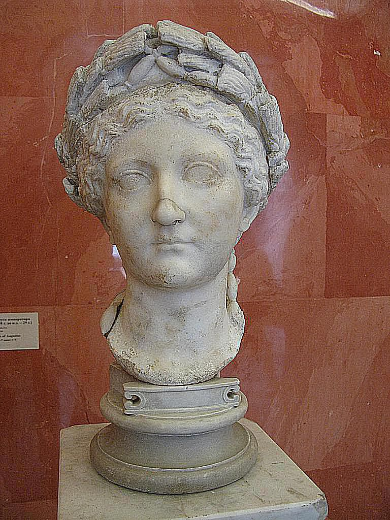Livia, wife of Augustus 2nd quarter of the 1st century AD. Marble