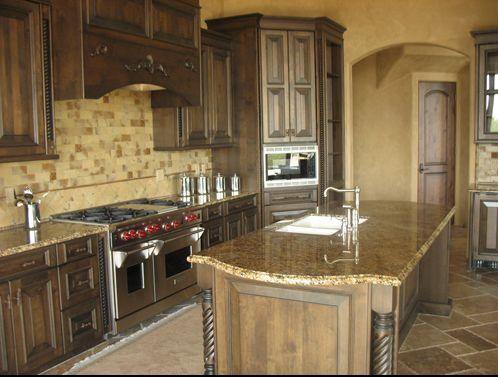 Tuscan Style Kitchen style kitchen