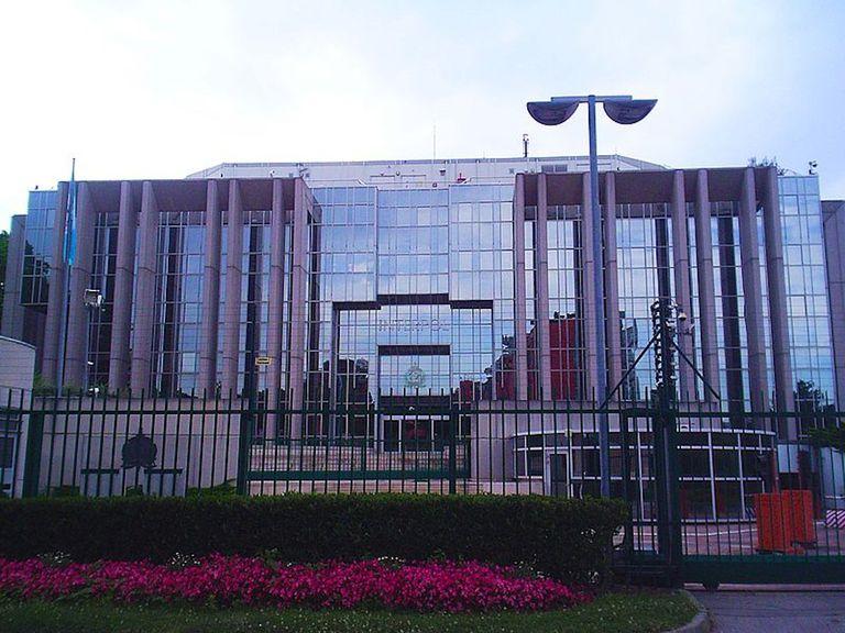 ICPO-Interpol Headquarters in Lyon, France