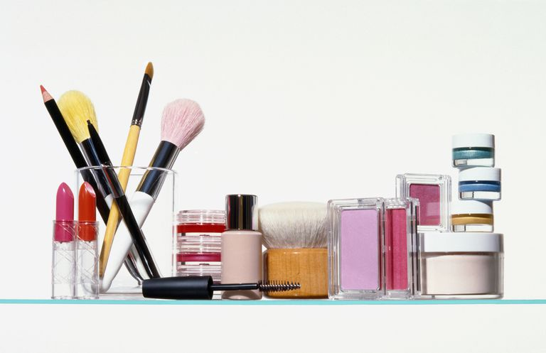 A picture of various beauty products