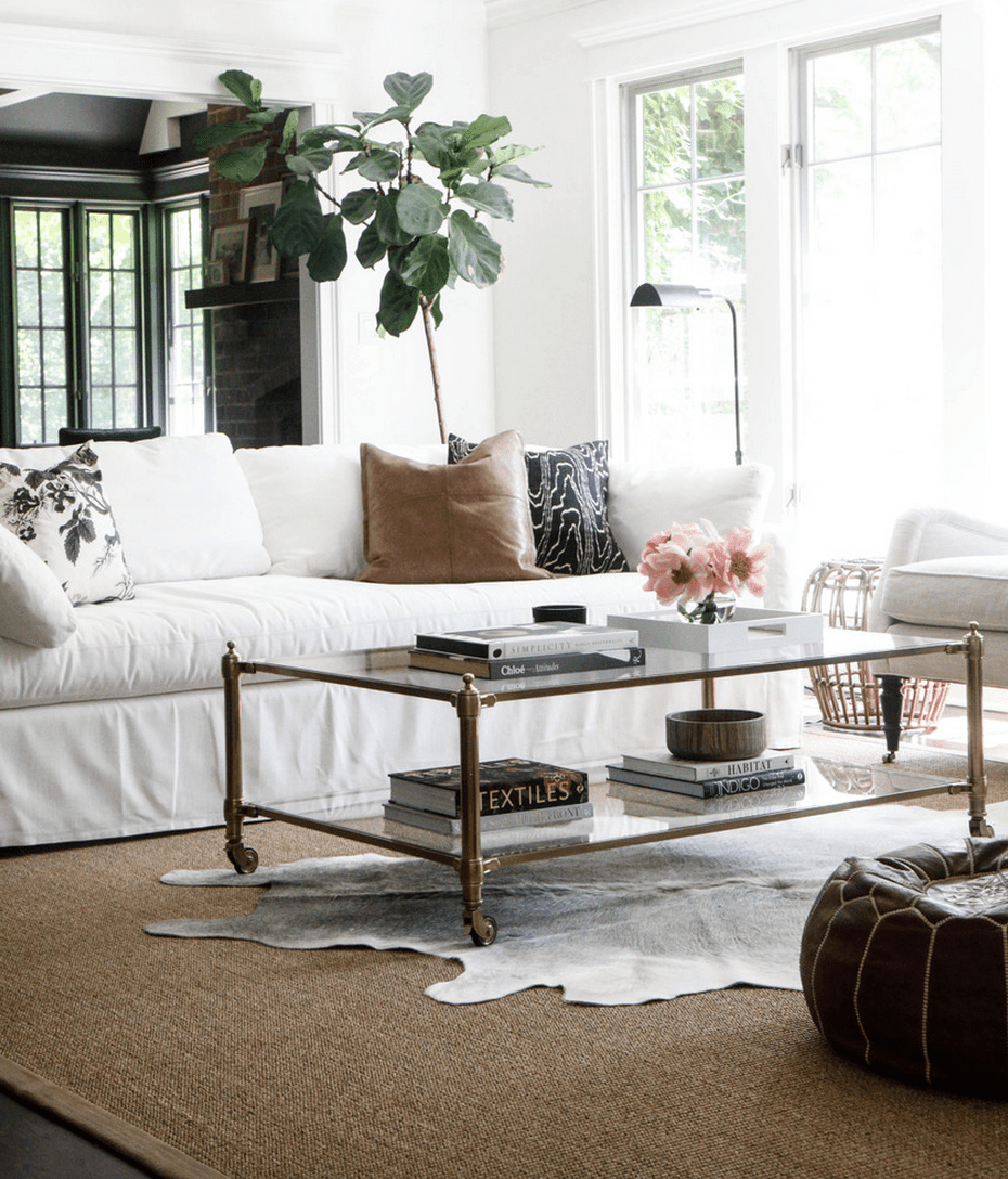 15 Pretty Ways to Style a Coffee Table