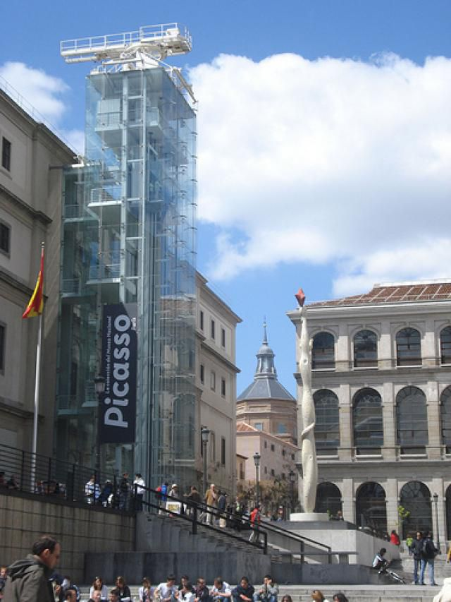 The Reina Sofia is perhaps the best art museum in Madrid