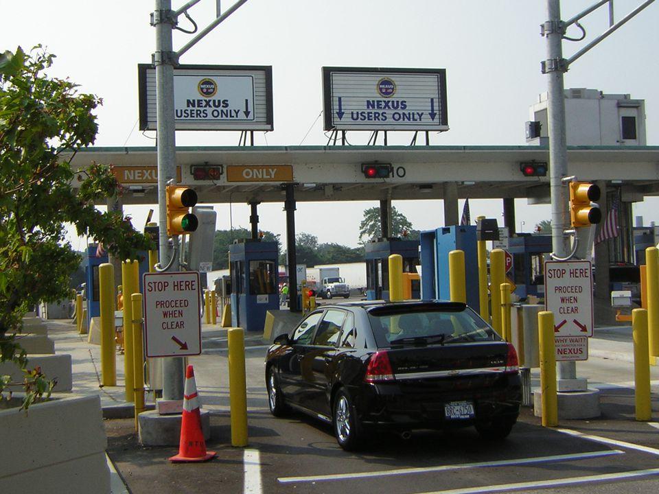 NEXUS Lanes at Canada / U.S. border