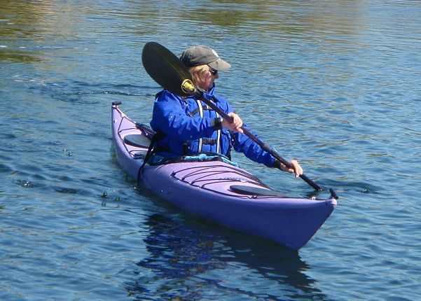 Kayaking Forward Stroke