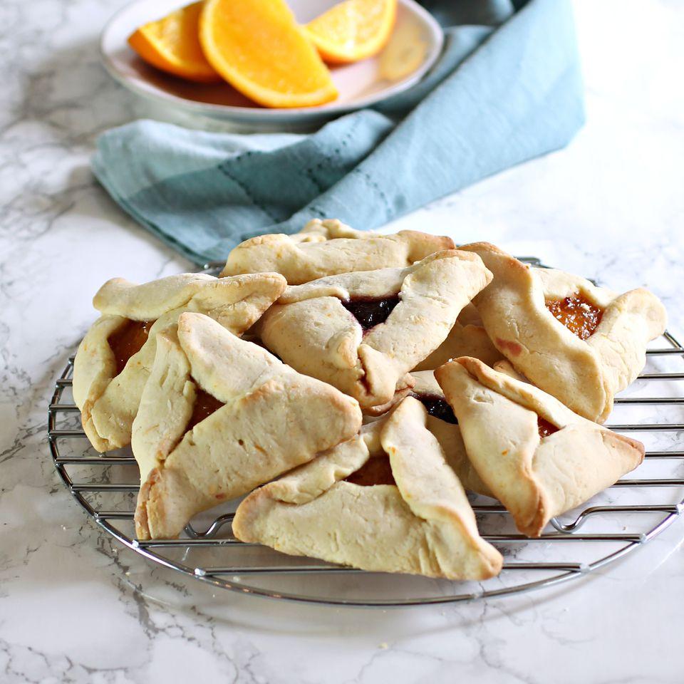 Honey Date Hamantaschen Cookies