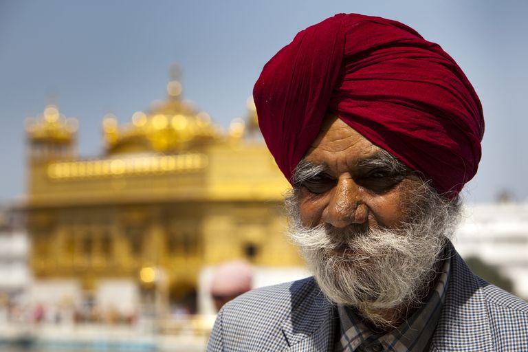 Sikh man in turban