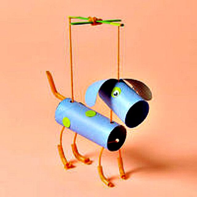 Crafts For Dog Lovers: 12 Kids Crafts For Dog Lovers