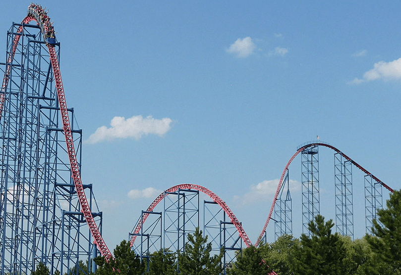 Ride of Steel at Darien Lake