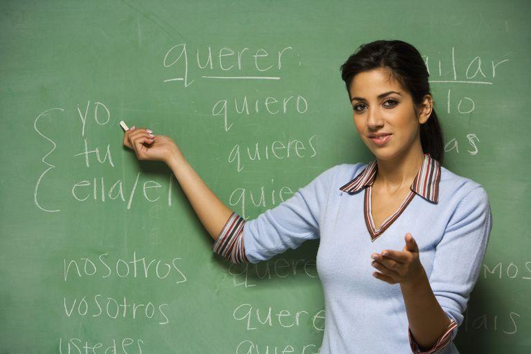 Profesora de español