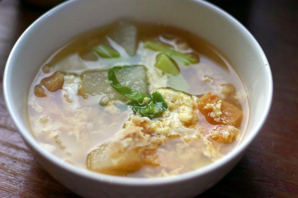 Korean Dried Pollack Soup