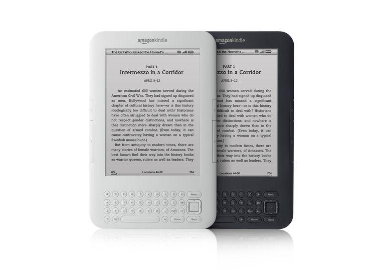 Third-generation Amazon Kindle