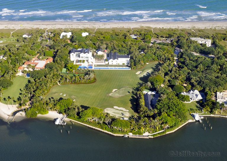 Tiger Woods House in Jupiter Island, Florida