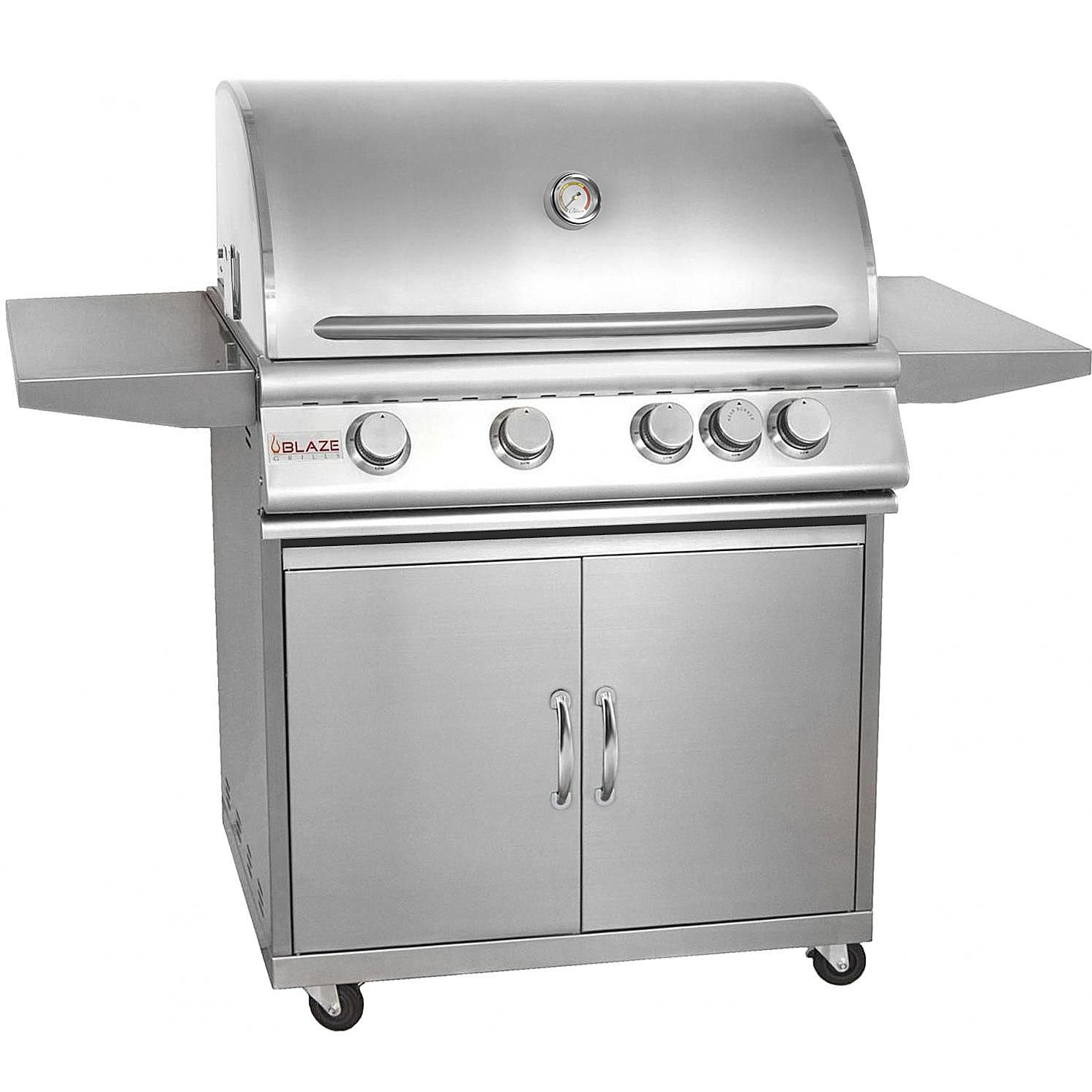 Blaze 32 Inch Gas Grill Model BLZ 4 Review