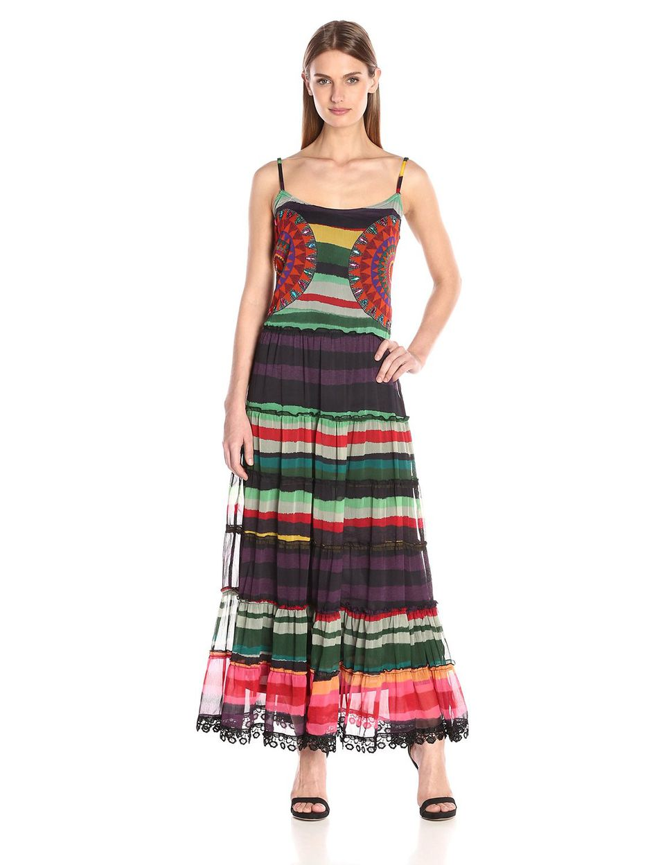 What To Wear A Destination Fall Wedding Desigual Womens Woven Dress