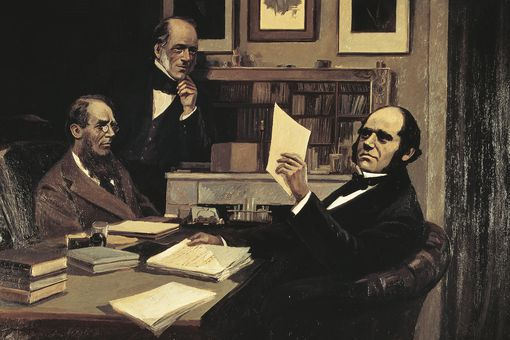 Charles Darwin was limited by technology for what evidence he had.
