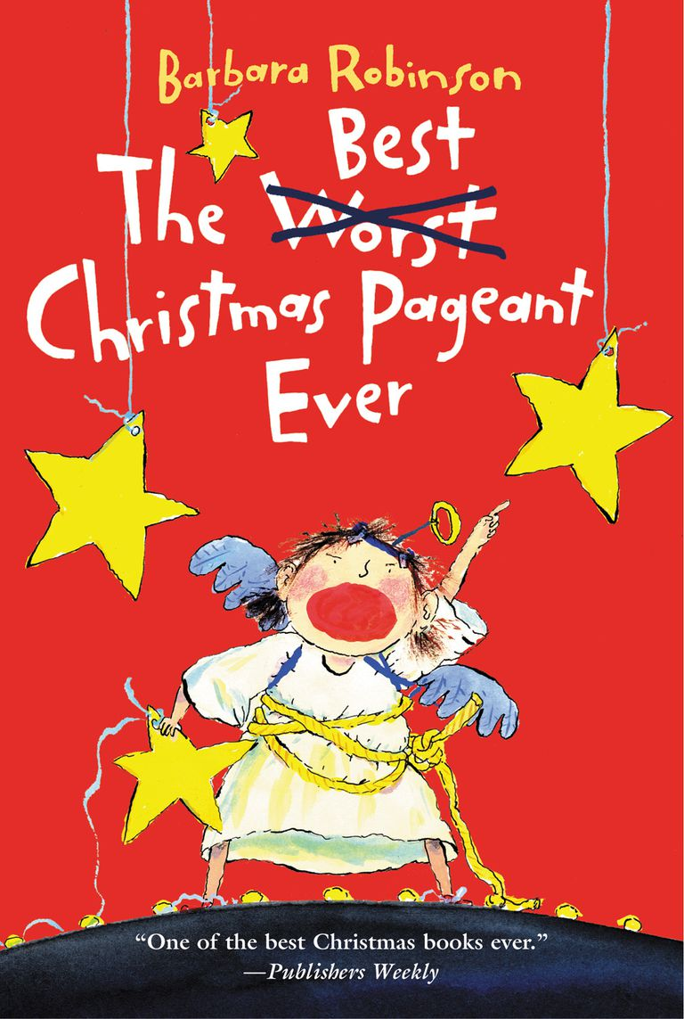 The Best Christmas Pageant Ever - Book Cover