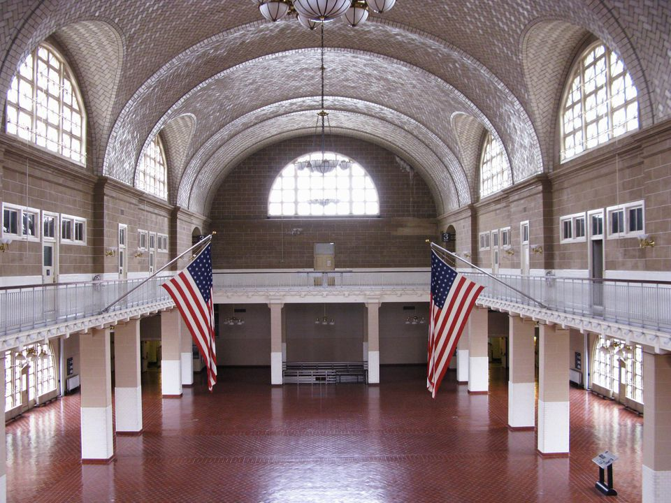 Ellis Island Registry Room