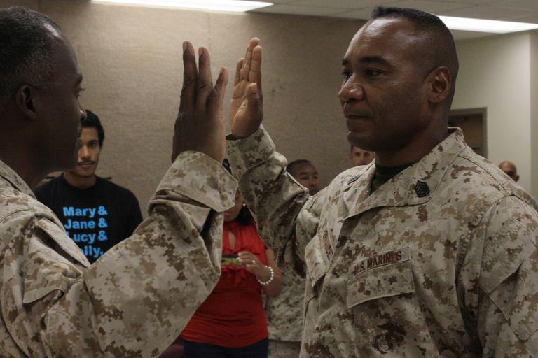 USMC reenlistment