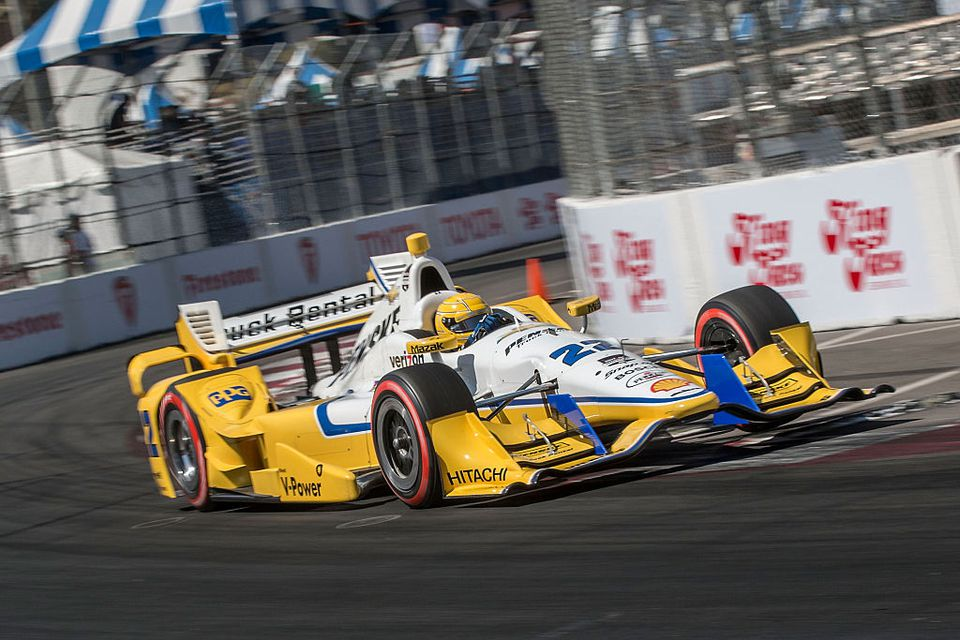 #22 Chevrolet Indy Car at the Toyota Grand Prix