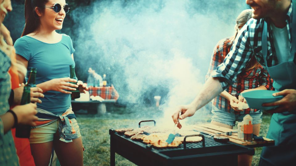 Barbecue party.