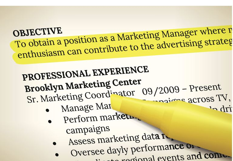 resume with objective - Resume Writing Objectives