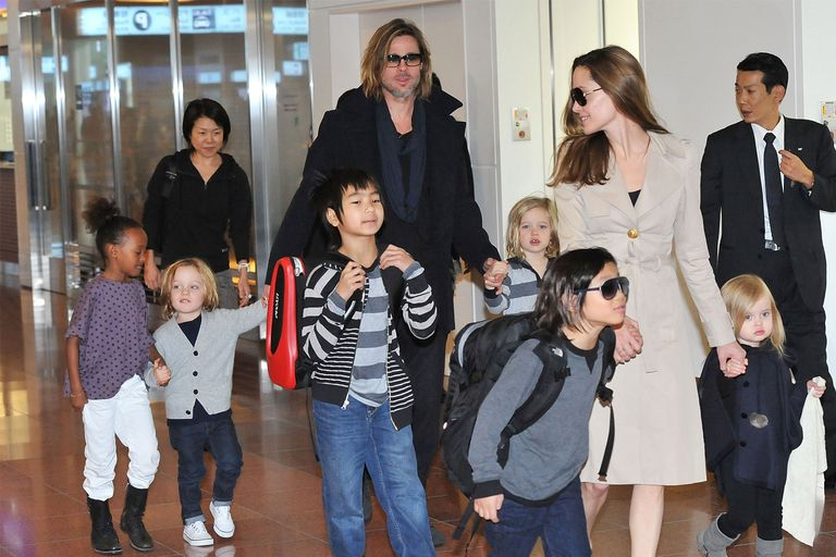 Angelina Jolie Seeking Sole Physical Custody