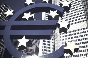 Euro Symbol Outside European Central Bank