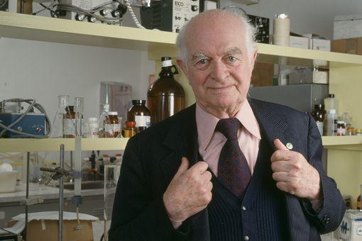 American chemist and multiple Nobel Laureate Linus Pauling (1901 - 1994), June 1982.