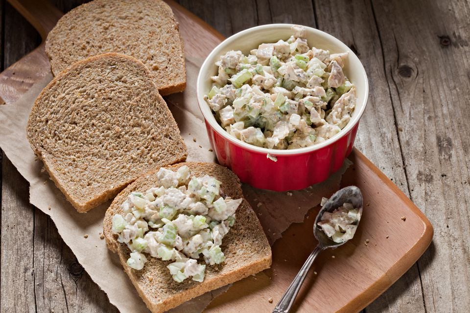 recipe: chicken salad sandwiches with canned chicken [31]
