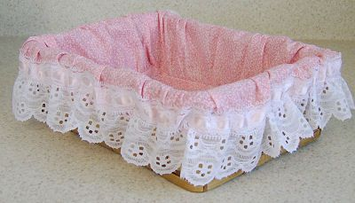 Basket Liner for a Rectangle Basket