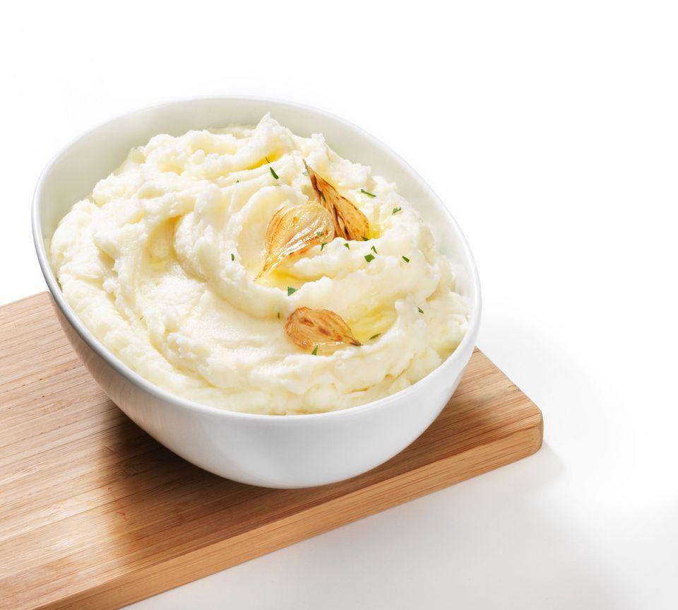 garlic mashed potato dip