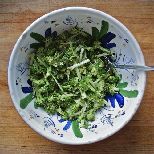 Broccoli Salad With Lemon