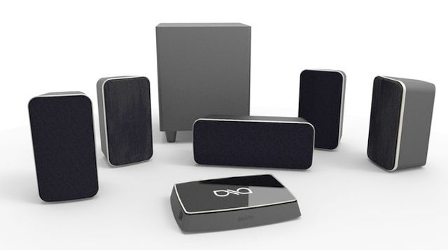 Axiims Wireless Home Theater Audio System Shakes Things Up