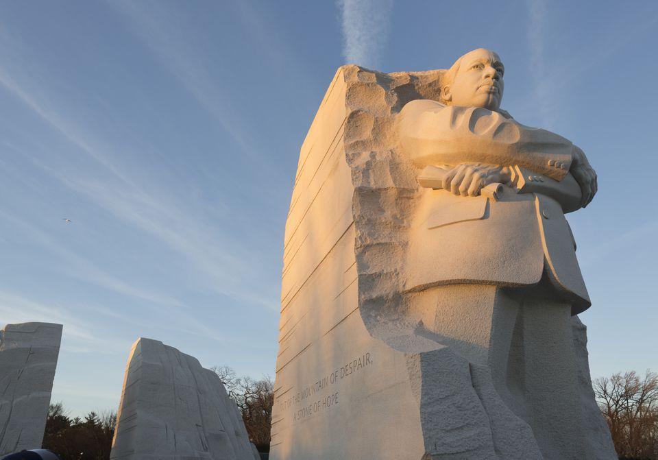 MLK Statue