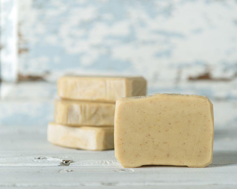handmade lemongrass green tea soap