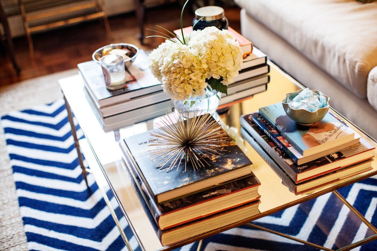 8 cool ways to style your home with books design ideas by style - Coffee Table Design Ideas