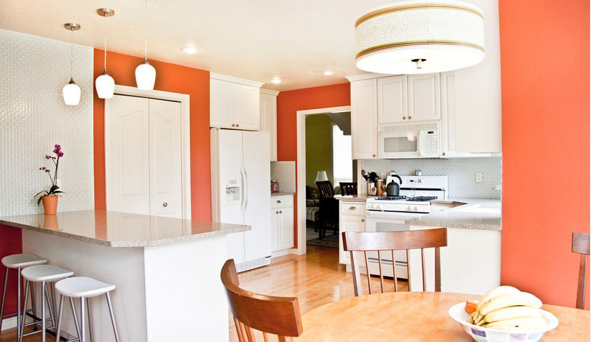 Contemporary classic kitchen design for Kitchen design 7 x 9