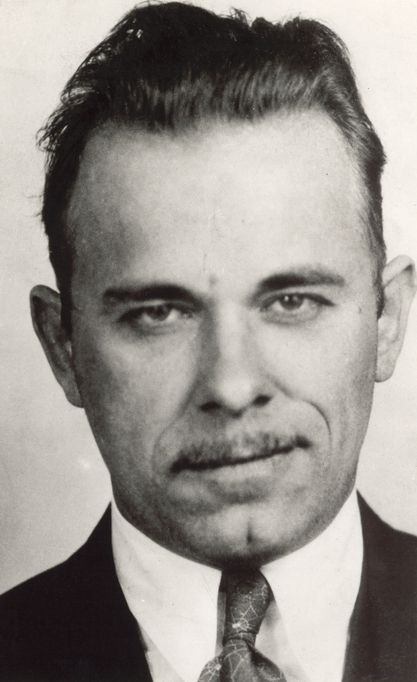 a biography of john dillinger an american gangster during the depression era
