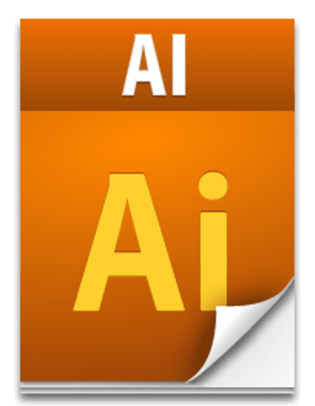 Screenshot of the AIT file icon used with Adobe Illustrator