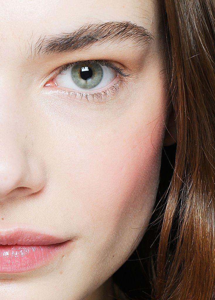 Closeup of a face