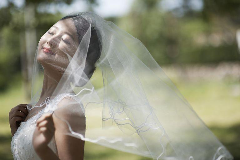 Develando los secretos del velo de novia: básicos del velo que toda novia debe saber.