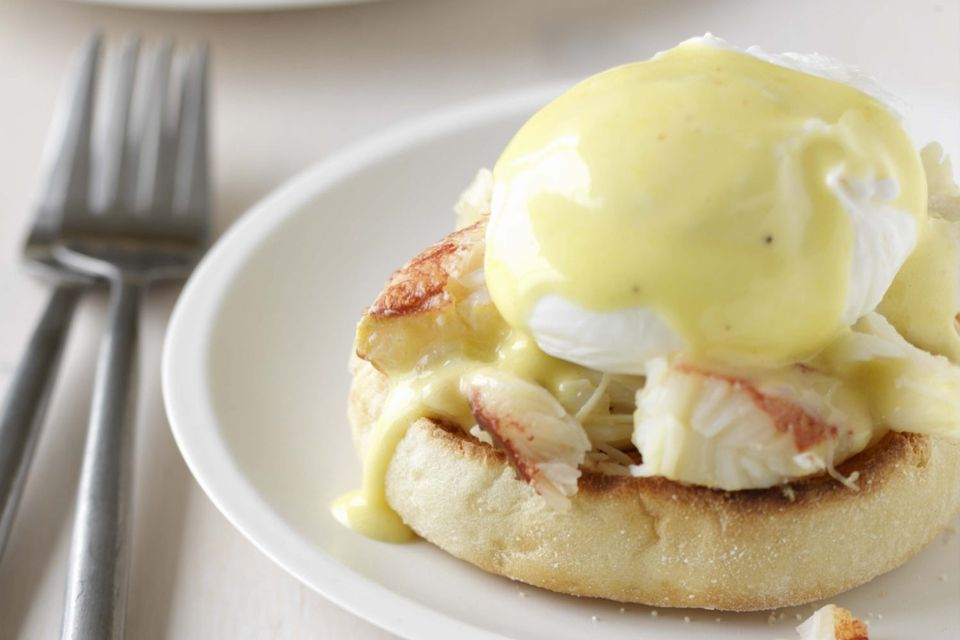 Eggs Benedict with Crab Meat